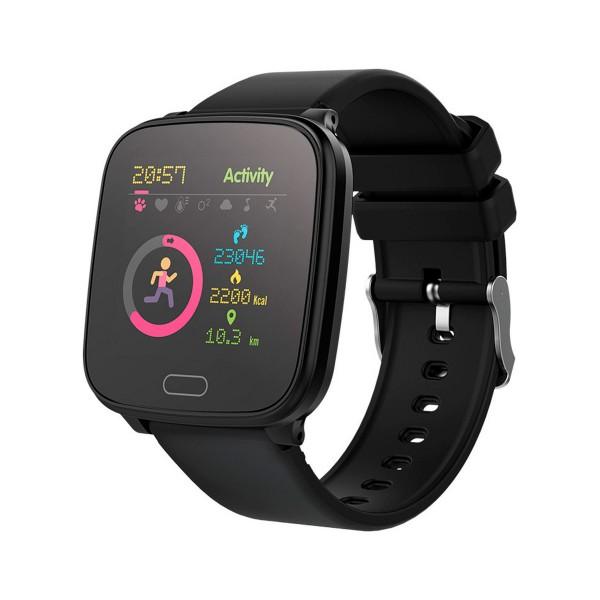 Forever igo jw-100 negro/ smartwatch junior/bluetooth/acelerómetro/frecuencia cardíaca